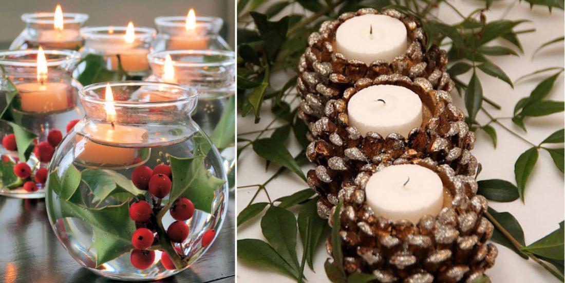 14 porte-bougies à faire soi-même pour se mettre dans l'ambiance de Noël!