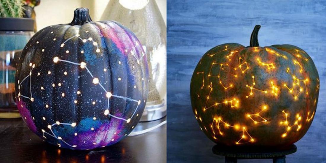 Apprenez à fabriquer une citrouille galactique pour Halloween