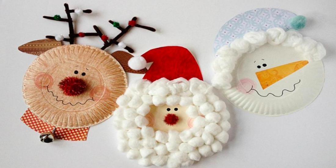 16 bricolages d'hiver à faire avec les enfants à partir d'assiettes en carton!