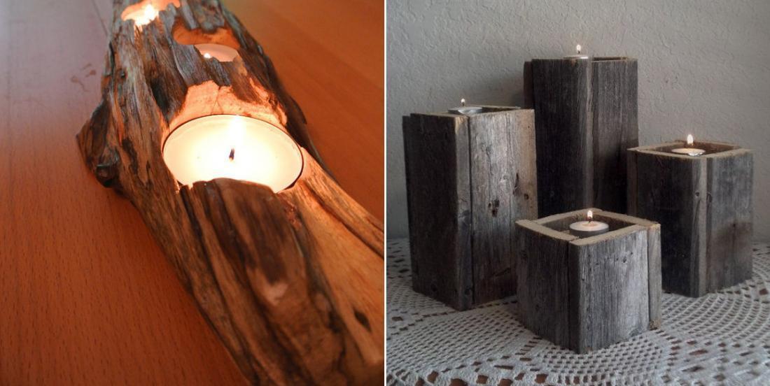 13 modèles de chandelier en bois à fabriquer soi-même