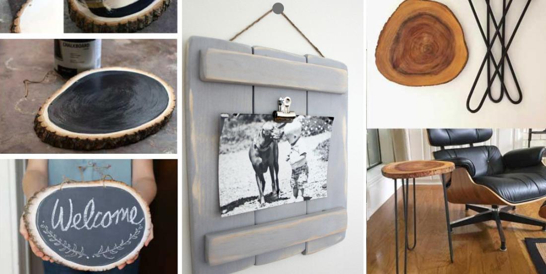 15 projets en bois faciles à faire soi-même