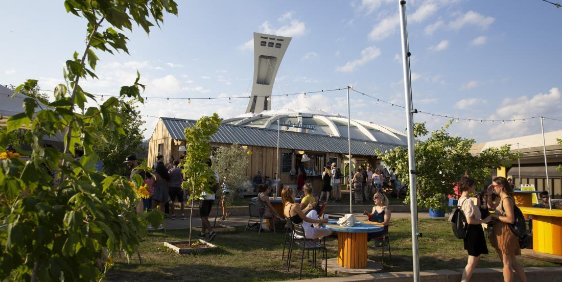 Cet été, visitez Les Jardineries, une oasis de détente montréalaise qui vaut vraiment le détour