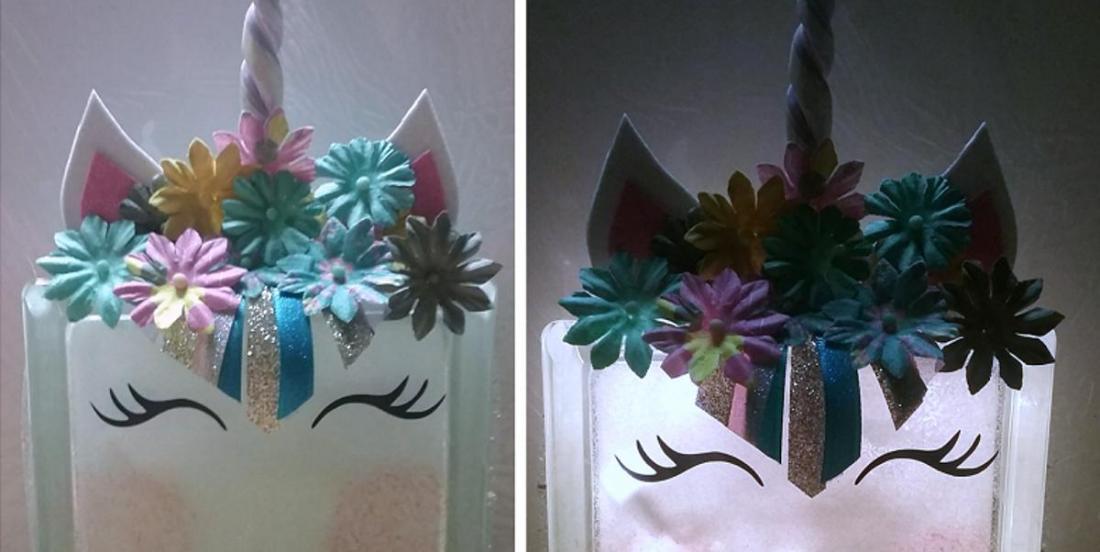 Réaliser une veilleuse en forme de licorne en quelques étapes simples