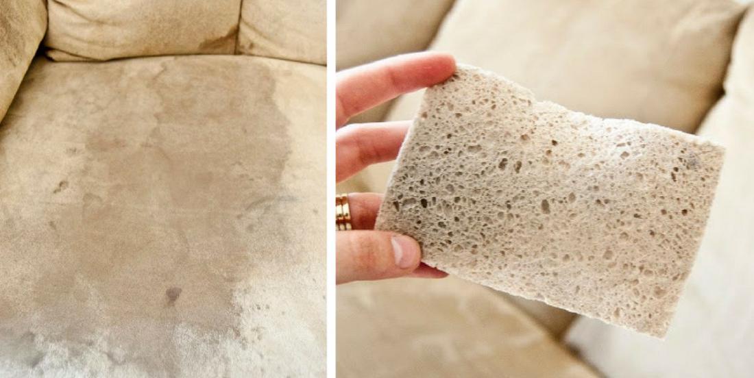 6 conseils pour nettoyer un canapé en micro-fibre taché