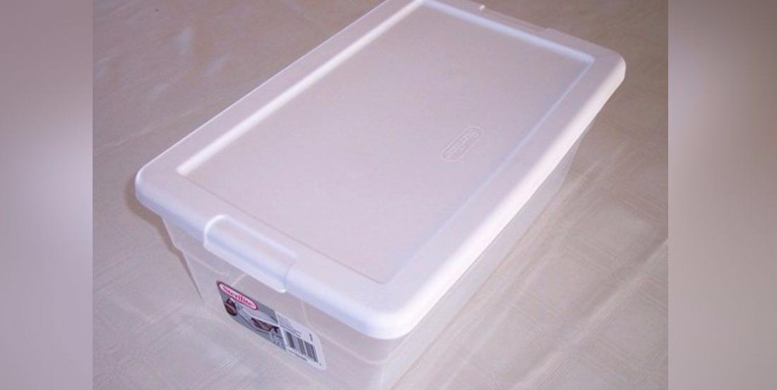 Organisez votre intérieur à l'aide de boîtes de rangement bon marché