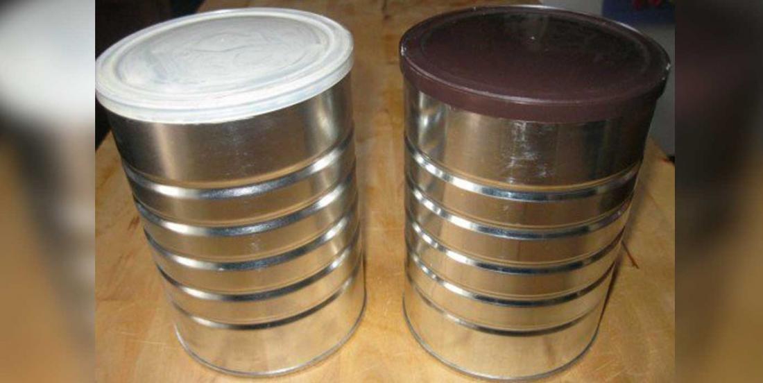 10 bonnes idées pour réutiliser les grosses boîtes de café!