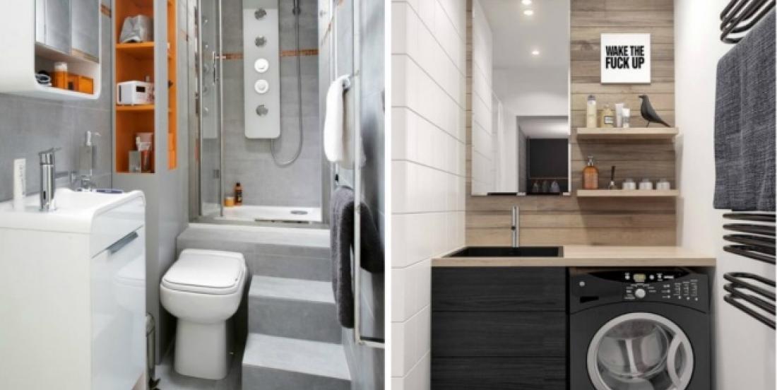 13 façons de faire paraître une minuscule salle de bain plus grande qu'elle ne l'est en réalité