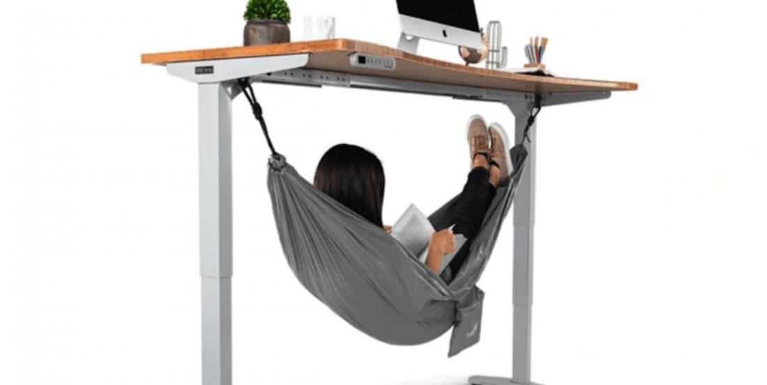 Petite fatigue au bureau? Ce hamac est peut-être pour vous!