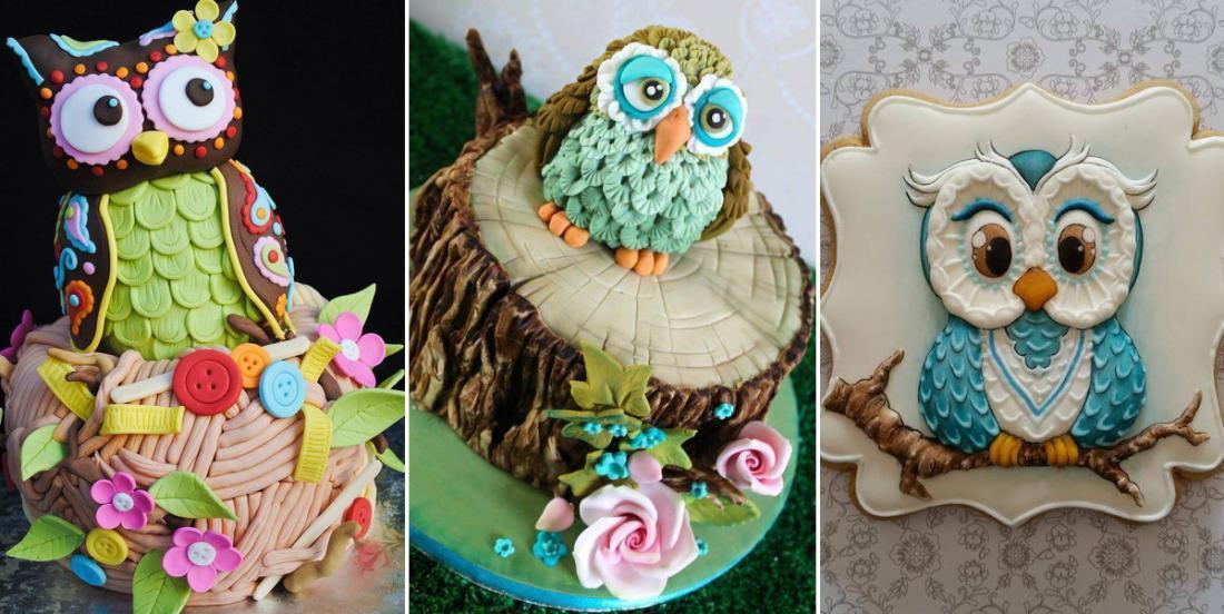 Vous aimez les hiboux? Vous allez adorer ces 15 magnifiques gâteaux!