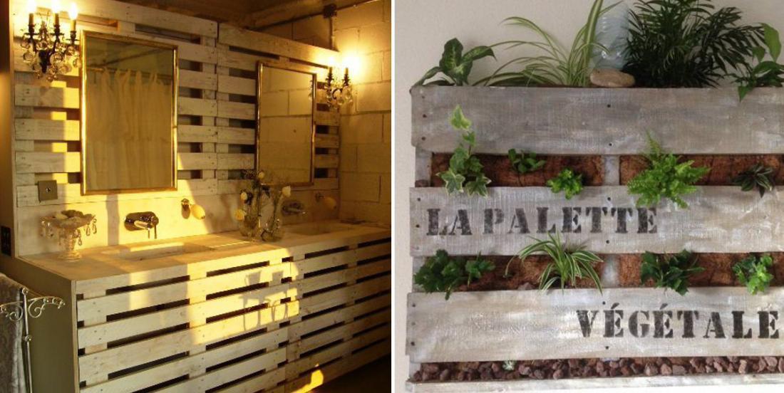 17 idées pour confectionner des meubles originaux avec du bois de palette