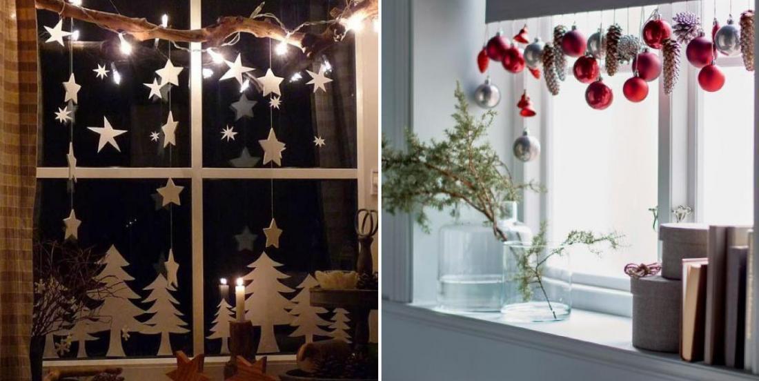 16 décorations de Noël faciles à réaliser qui orneront les fenêtres de votre maison