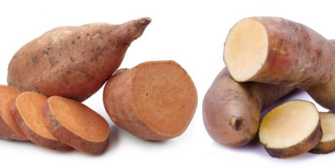 Voici la différence entre les ignames et les patates douces