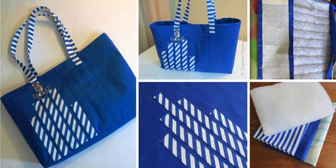 Voici comment fabriquer le sac de plage parfait en suivant les étapes suivantes!