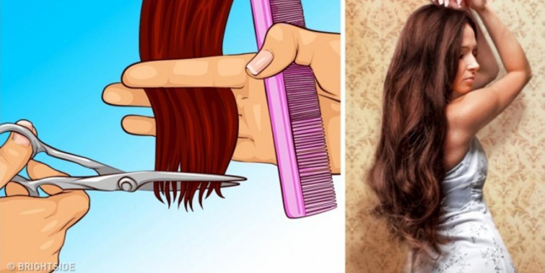 11 croyances populaires qui nous empêchent d'avoir des cheveux longs et en santé!