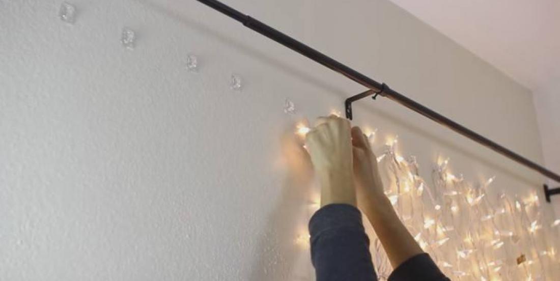 16 façons géniales d'utiliser les guirlandes de lumières dans votre maison!