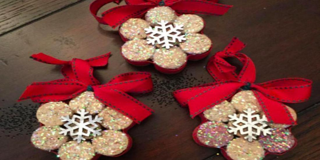 Récupérez les bouchons de liège pour faire de belles décorations de Noël!