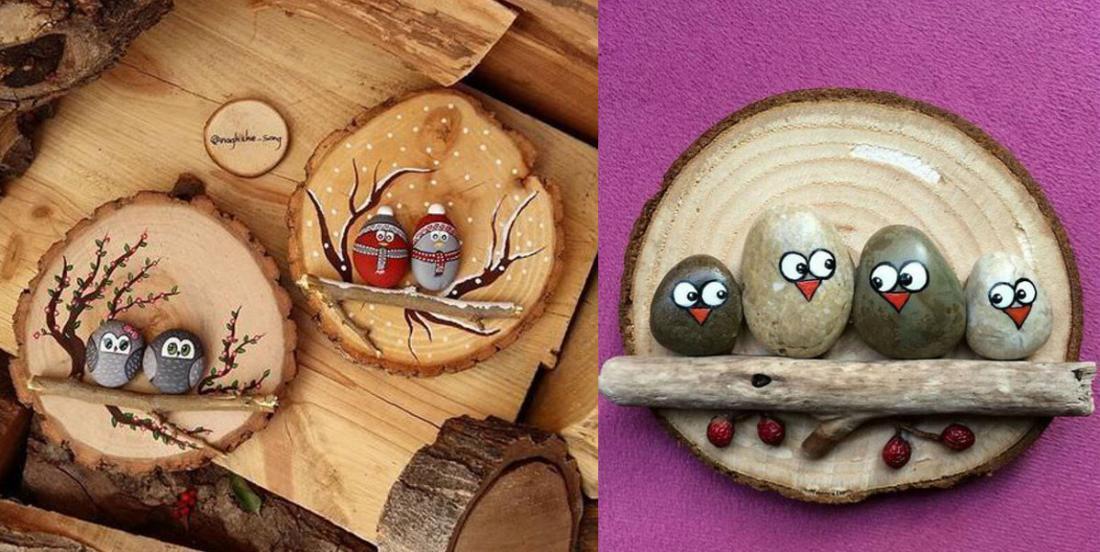Donnez vie à des galets en les peignant et réalisez de jolis objets décoratifs!