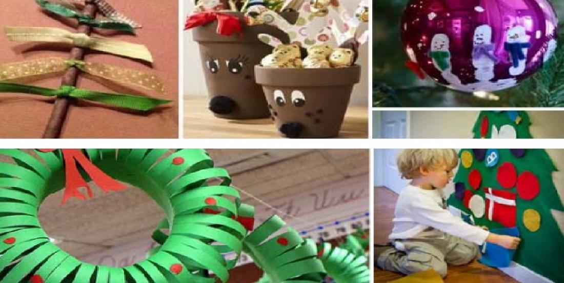 20 projets de Noël simples et peu coûteux que les enfants prendront plaisir à bricoler