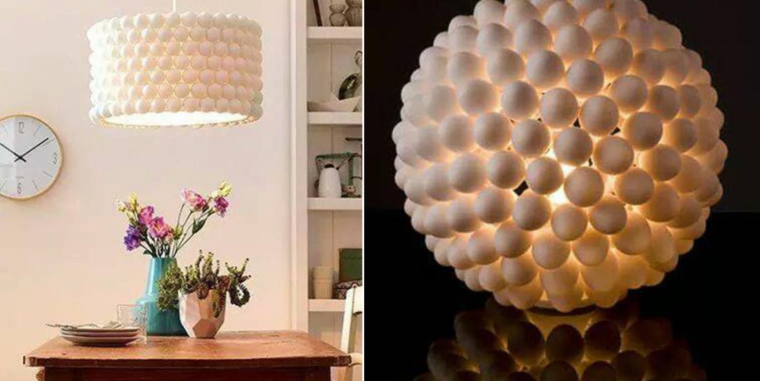 Récupérez les balles de ping pong pour en faire des objets pratiques et décoratifs!