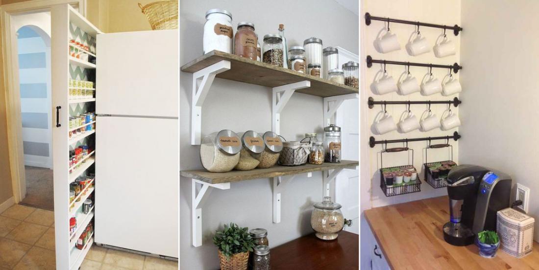 14 idées pour maximiser l'espace de rangement dans votre cuisine