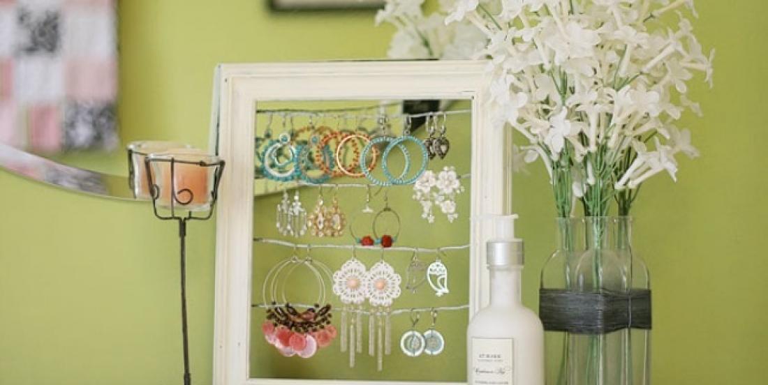 Voici de brillantes façon de recycler de vieux objets en leur donnant une toute nouvelle utilité!