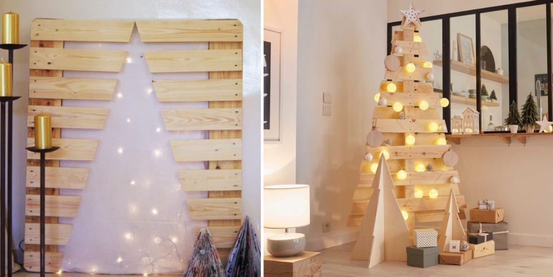 20 magnifiques sapins de Noël en bois faciles à fabriquer