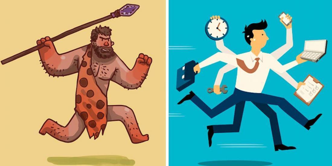 9 particularités que nous avons héritées de nos ancêtres et qui ne nous sont plus d'aucune utilité