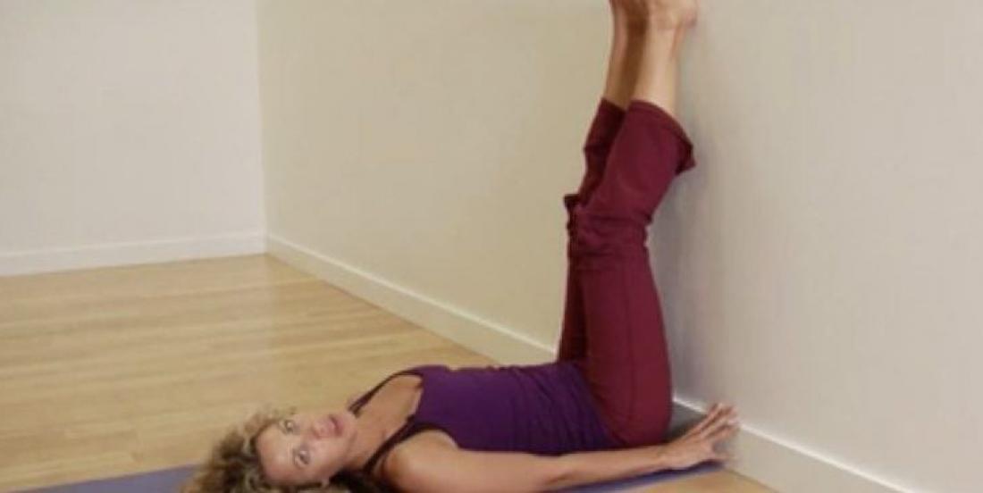 7 raisons de lever vos jambes contre un mur tous les jours