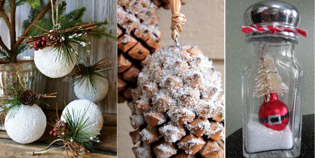 N'achetez plus de neige artificielle, bricolez vos décorations hivernales avec du sel