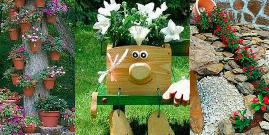 15 idées originales pour exposer vos fleurs extérieures!