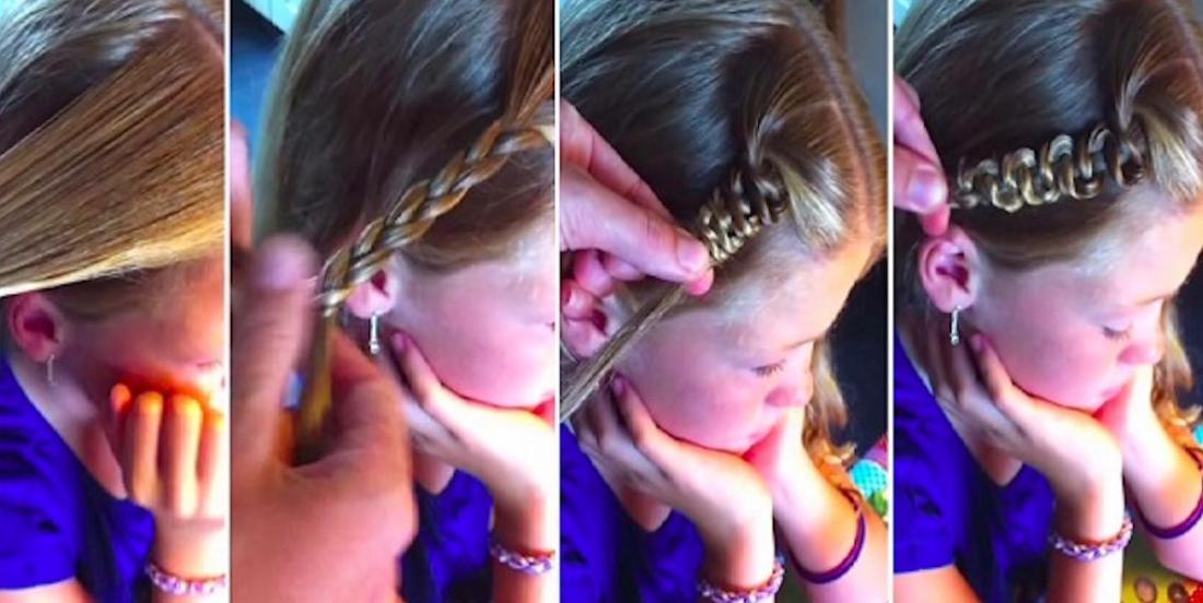 Tutoriel vidéo: réalisez cette tresse de princesse en moins de 2 minutes!