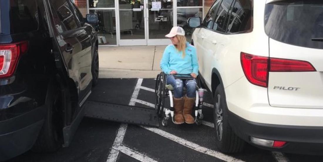 Voici pourquoi il ne faut pas se stationner dans les places pour handicapés