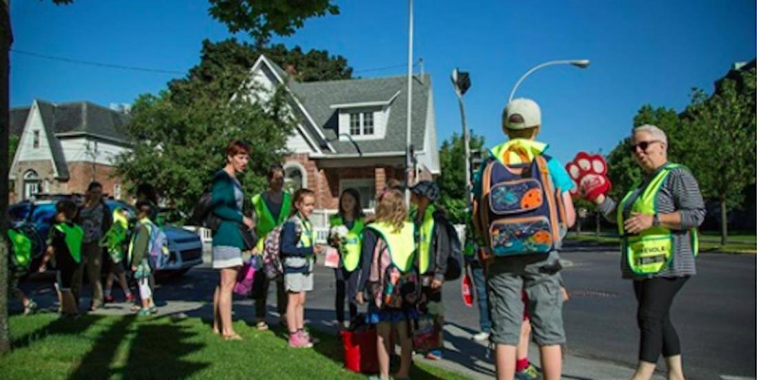 Rentrée scolaire: et si vous instauriez un « Trottibus » dans votre quartier?