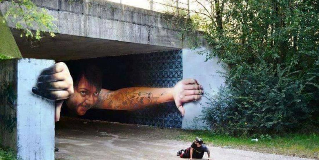 29 photos où l'art de rue s'intègre parfaitement à son environnement