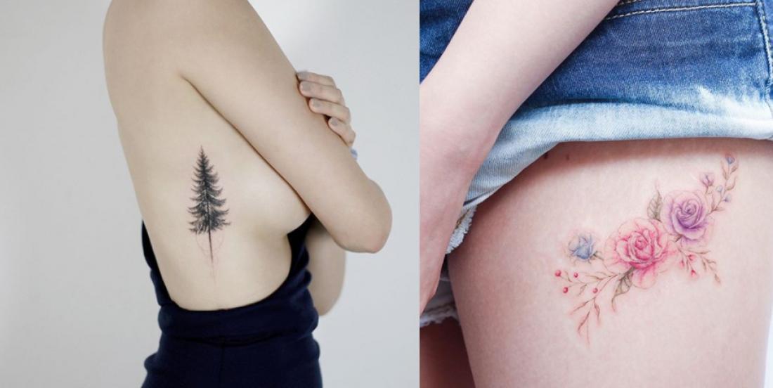 12 idées de tatouages minimalistes, délicats ou féminins que vous voudrez absolument