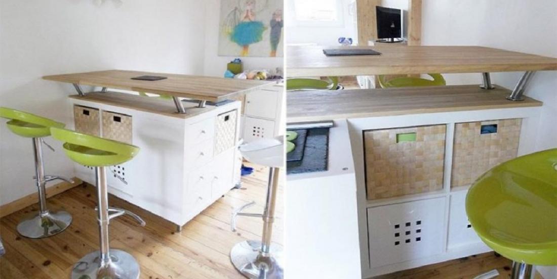 Ce meuble Ikea est si polyvalent que vous pouvez le transformer de 20 façons différentes