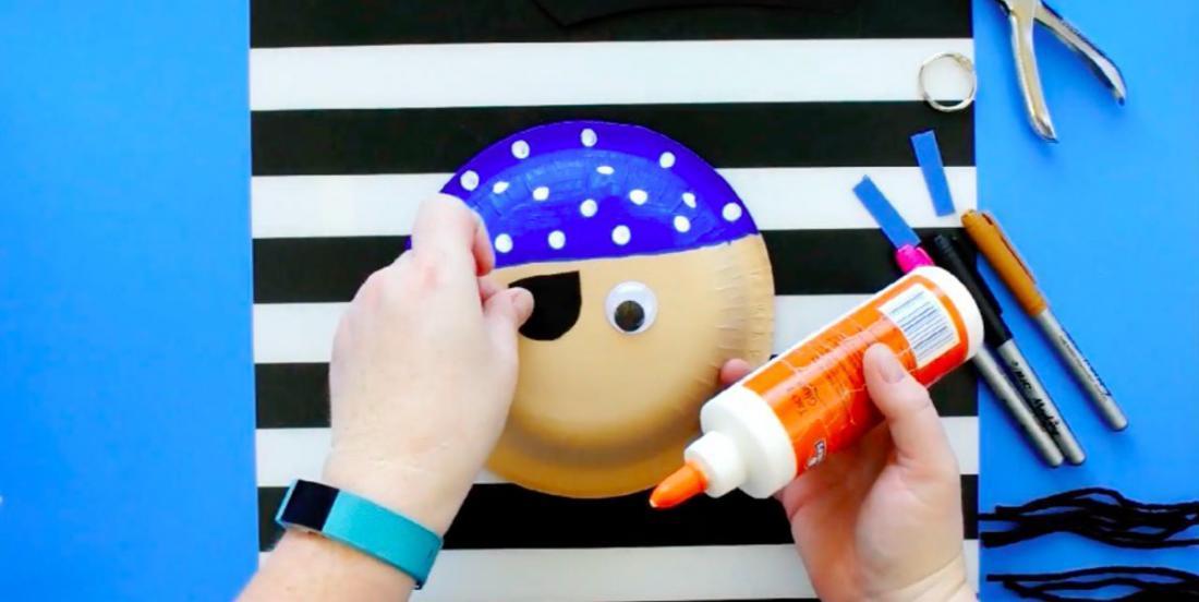 Bricolez de magnifiques pirates en 3D à partir de bols en papier!