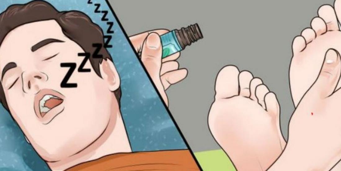 Avant d'aller vous couchez, mettez ces huiles essentielles sur vos pieds afin de dormir comme un bébé