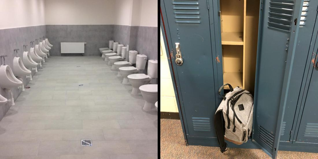 22 photos d'écoles qui font honte aux étudiants qui les fréquentent.