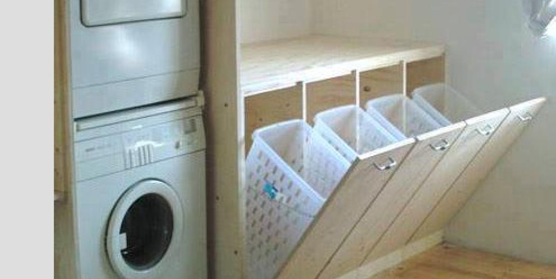 Voici plusieurs façons d'augmenter votre capacité de rangement pour de petits espaces!