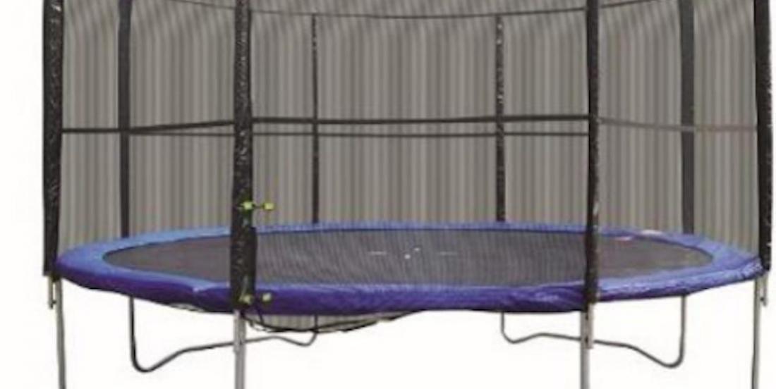 Important rappel de trampolines qui présentent un risque de blessures.
