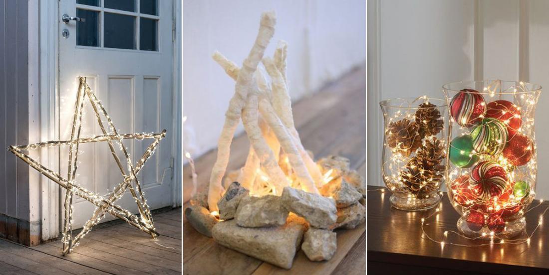 18 déco lumineuses faciles à fabriquer! Décorez la maison pour Noël sans trop dépenser!