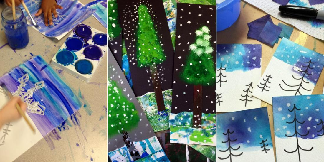10 magnifiques projets d'hiver à réaliser avec les enfants!