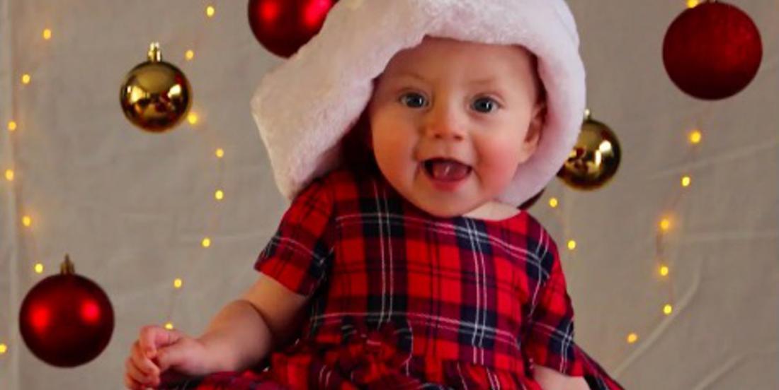 Voici comment prendre d'adorables photos de votre bébé pour Noël avec votre téléphone intelligent