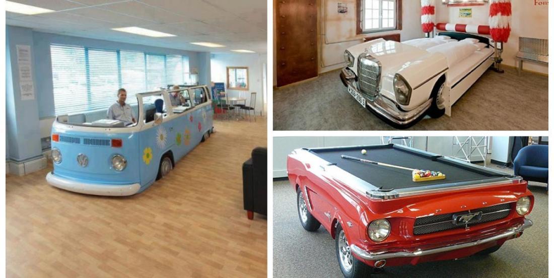 Ces gens ont récupéré de vieilles voitures de façon vraiment surprenante!
