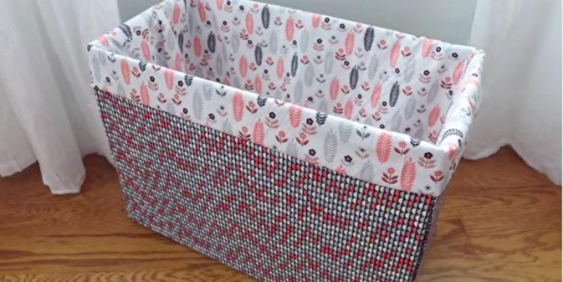 Transformez vos vieilles boîtes de carton en jolies boîtes décoratives!