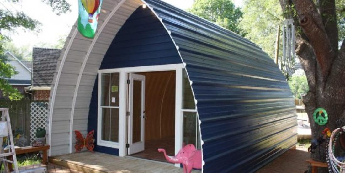 Construisez cette mini-maison pour moins de 1000$!