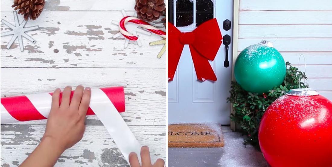 Ces 5 décorations des fêtes faciles à bricoler et feront jaser tous les gens de votre quartier