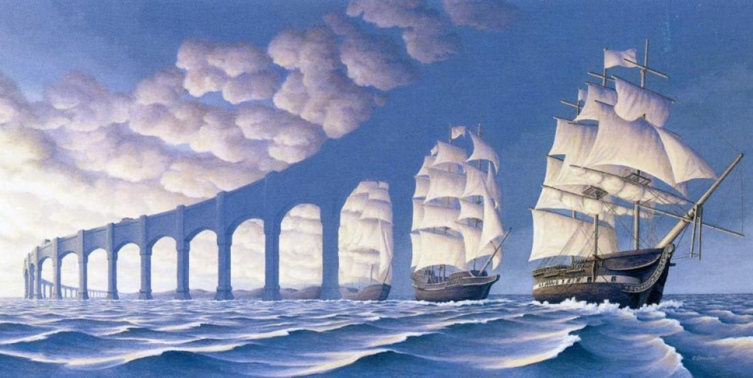 Un artiste canadien peint des illusions qui vous mystifieront tous!