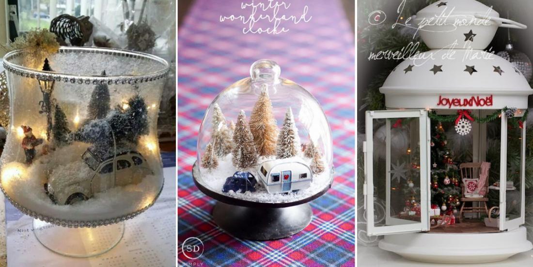 10 idées de bougeoirs d'hiver faciles à bricoler